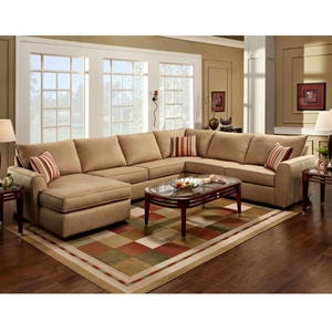 A Tan Sectional In The Open With Burgandy Pillows And Throws To Match Wall SectionalDiapersA TanApartment LivingApartment IdeasLiving Room