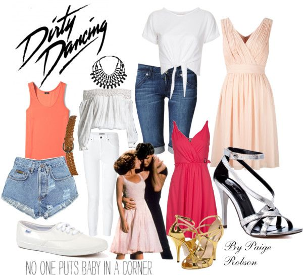 """Dirty Dancing: Baby"" by paige-robson ❤ liked on Polyvore"