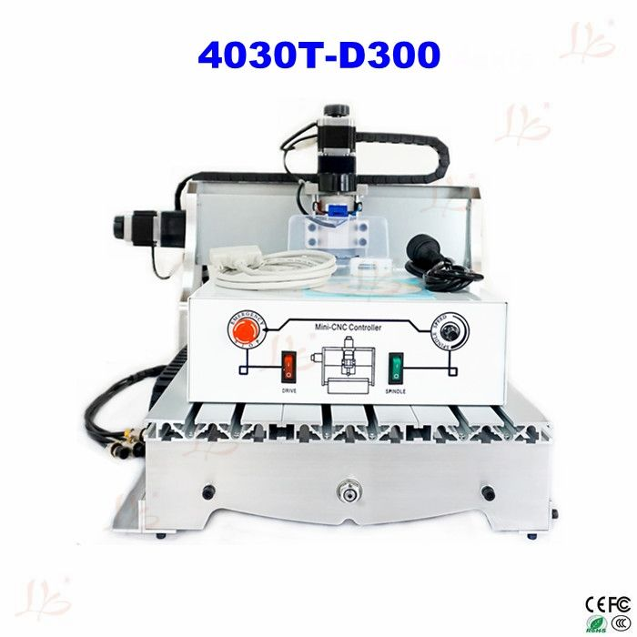 810.00$  Buy now - free shipping  CNC 4030T-D300 300w spindle Router Engrave mini cnc Milling Machine  #buyonlinewebsite