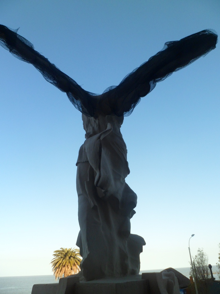 Victoria de Samotracia. Réplica de Allegrini. Mdeo. Uruguay