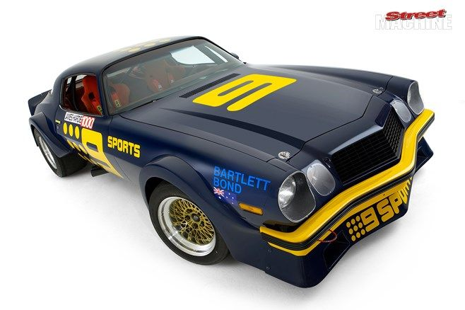 Kevin Bartlett Owner/Driver Camaro Channel 9 car. v@e.