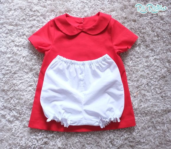 """Vestido e shortinho da nossa coleção """"Faz de Conta"""". Confeccionado em tecido 100% algodão! Disponível nos tamanhos 12 meses 18 meses 2 a 8 anos"""