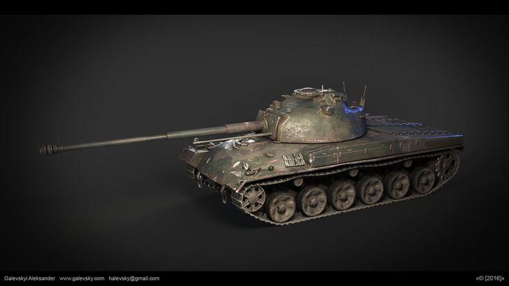 ArtStation - Panzer 58. Corona render test, Aleksander Galevskyi