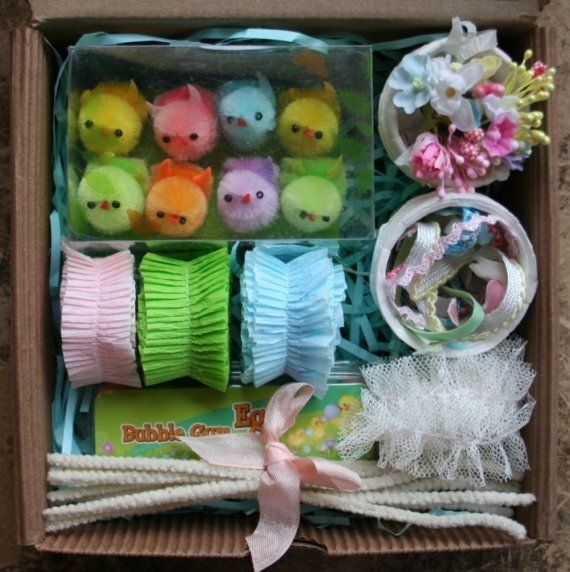 84 best images about easter baskets peat pots on pinterest for Easter craft ideas to sell