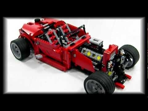 Hi Theo here with my first Lego Technics Channel film on the 8070 Roadster. I hope you like it!