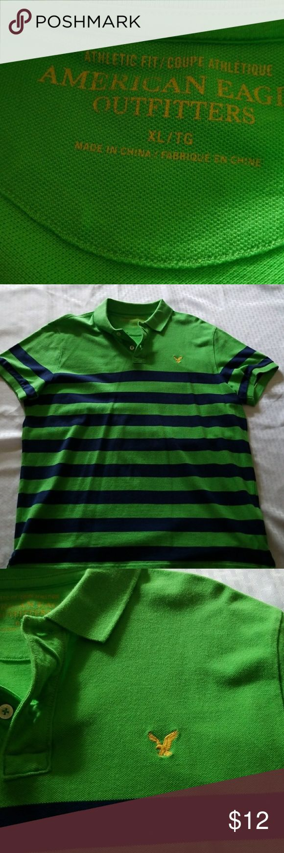 American Eagle Shirt Polo short sleeve, casual shirt. Gently worn once. American Eagle Outfitters Shirts Polos