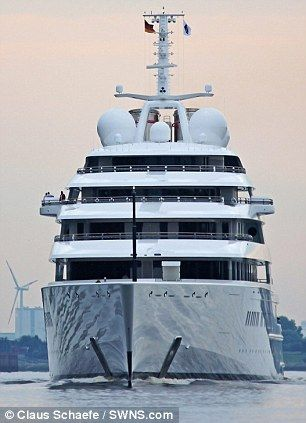 azzam yacht in the north sea | Azzam yacht: They've created a monster! World's largest private yacht ...