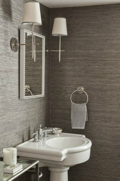 Awesome Paintable Wallpaper for Bathroom