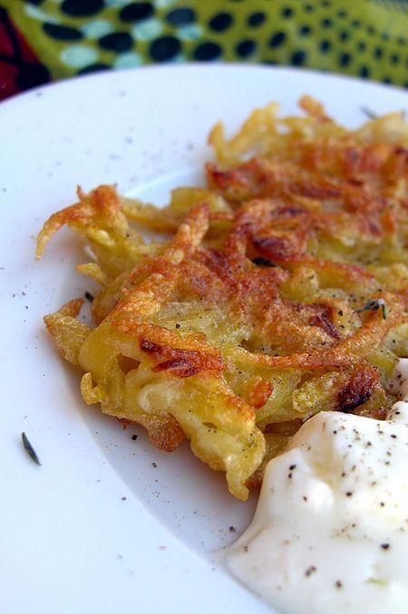 frittelle di patate croccanti