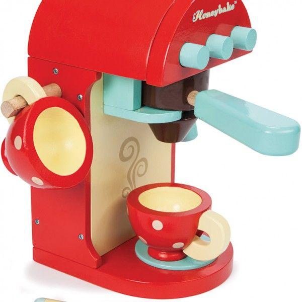 Ξύλινη χρωματιστή καφετιέρα Le Toy Van