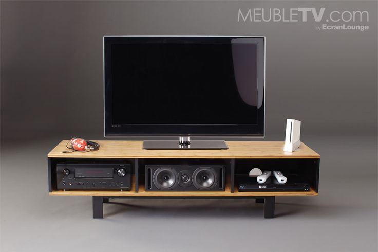 25 best ideas about meuble tv home cinema sur pinterest. Black Bedroom Furniture Sets. Home Design Ideas