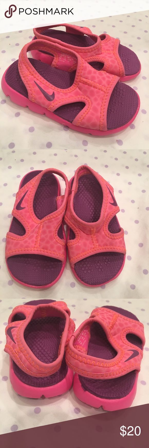Nike Water Shoes Never worn water sandals. Size 5C Nike Shoes Water Shoes