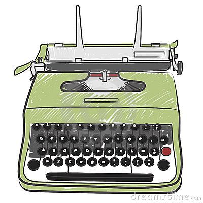 Pin by Sara Piersanti on Typewriters illustrations | Pinterest