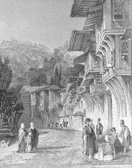 A neighborhood in Istanbul, Ottoman Era.