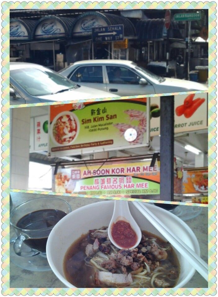 street food trail in Penang...one of the best gonna be there earlier only serve for breakfast.