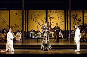 """The opera """"Madame Butterfly"""" by Puccini.  It's set in Nagasaki during the 1890s."""