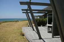Beachfront Spa Villa at Papamoa Beach Resort - Oh so romantic! The only real beachfront accommodation in the Bay of Plenty, just 10 minutes to Mount Maunganui!