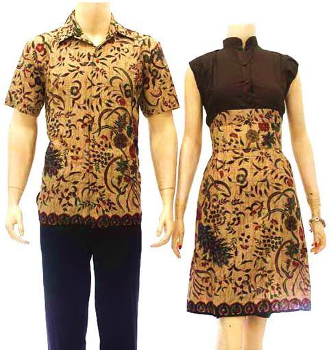 aneka model baju batik solo murah
