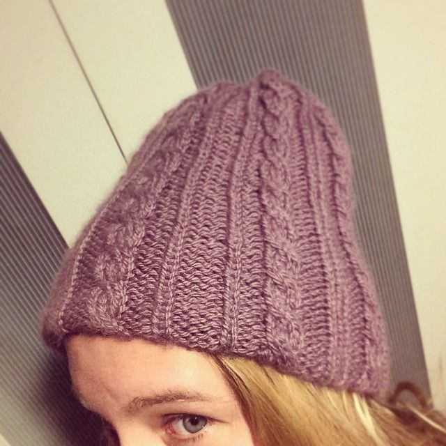 another one finished! cableknitted alpaca cap with merino lining. #knit #lilac #cap #hat #handmade #craft #knitstagram #instaknit #merino #alpaca #pink #lining #pro.    http://instagram.com/polaripopin   http://www.polaripop.com