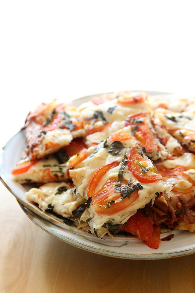 The Best of Bridge Stacked Pizza, a delicious and easy phyllo crust pizza, a perfect appetizer or main meal!