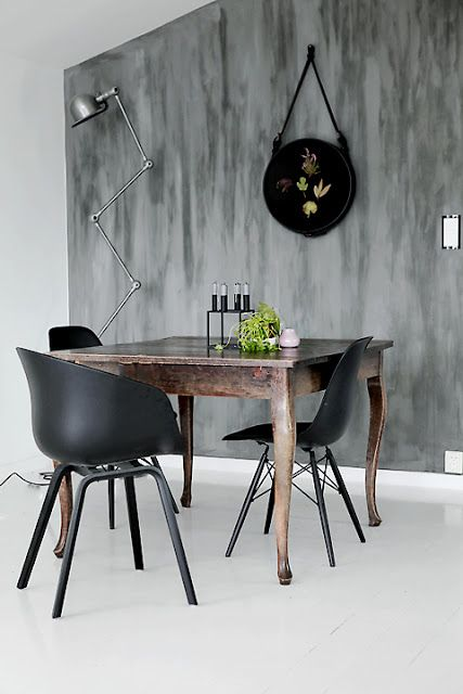 #nordic dining room.