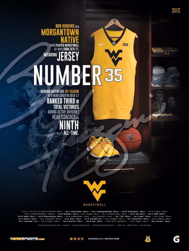 West Virginia Basketball Poster
