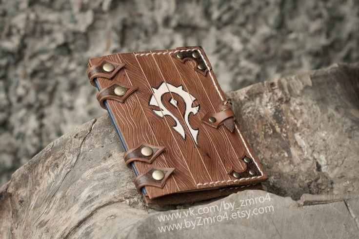 Warcraft Horde passport cover. Orcs passport. Horde от byZmro4