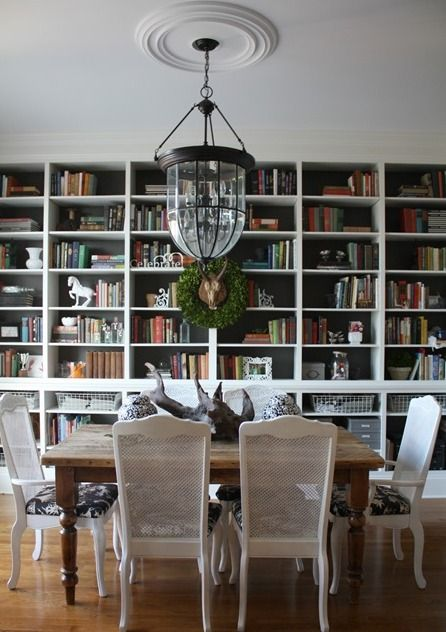 I Think This Is My Favorite Idea Of The Whole YEAR A Library Dining Room Would Want To Eat There Year Round Not Just Holidays
