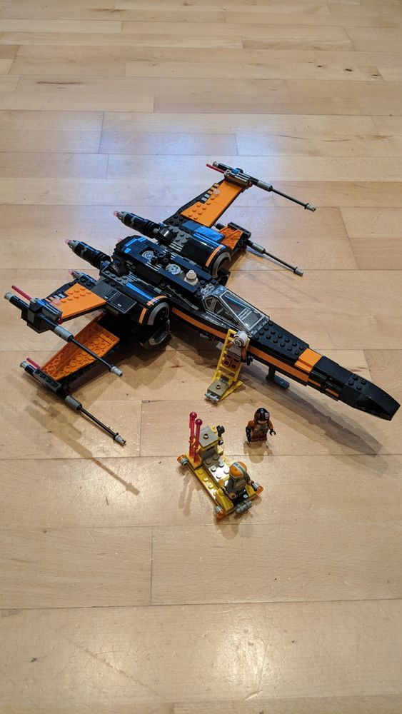 LEGO Star Wars Poe's X-Wing Fighter (75102) | Star Wars/Star Blazers