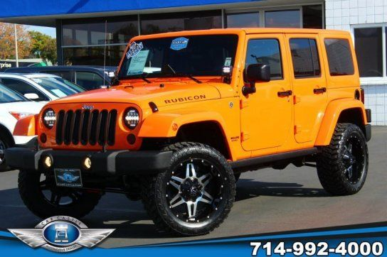 Sport Utility, 2012 Jeep Wrangler 4WD Unlimited Rubicon with 4 Door in Fullerton, CA (92832)