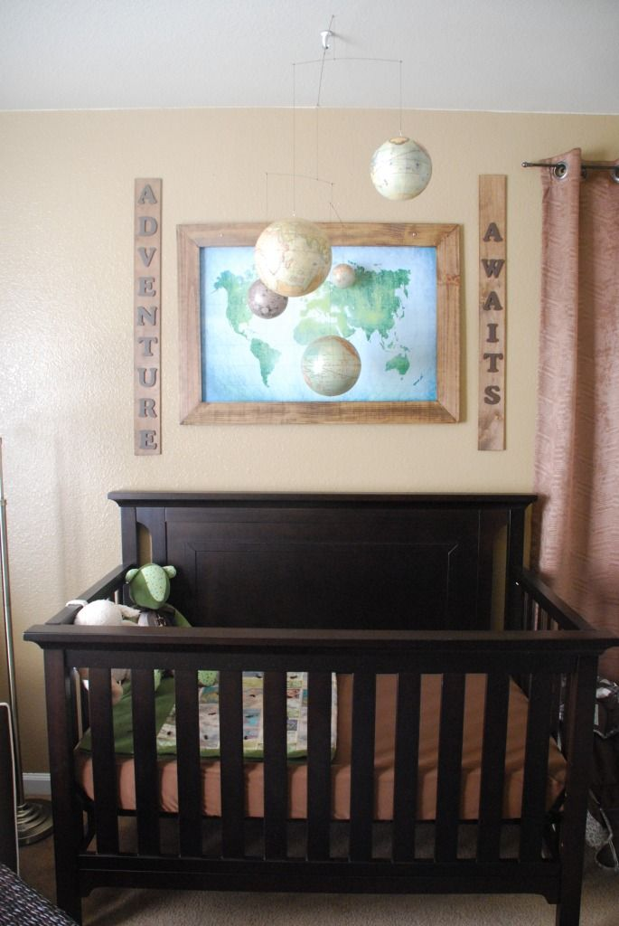 Little Brother's Vintage Travel and Map Nursery | Vintage ...