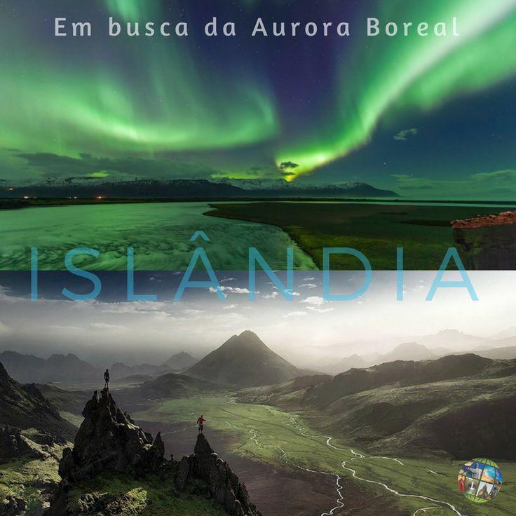 Islândia tem paisagens intensas e diferentes a cada ponto que parece estar em outro planeta. Experiencie a Aurora Boreal e sinta  a vivacidade desse fenômeno puro.