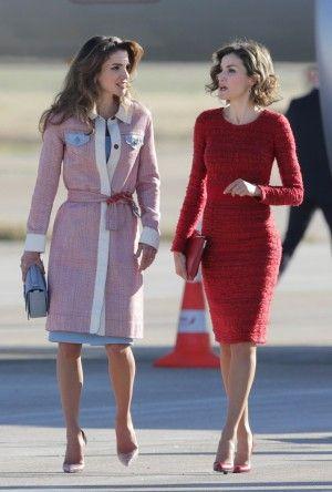 Rania y Letizia