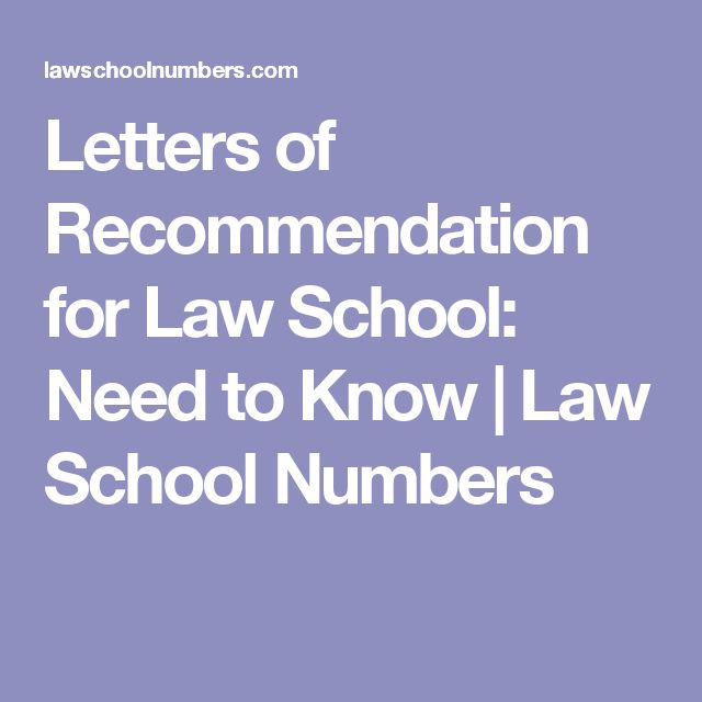 64 best Law school resources images on Pinterest School stuff, Law - law school letter of recommendation