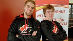 Aaron Ekblad and Connor McDavid- whatta babe.