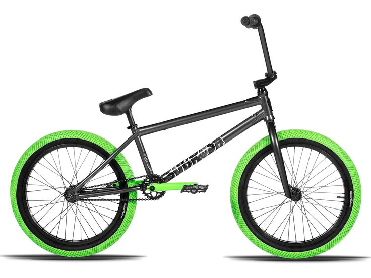"Subrosa Bikes ""Arum XL"" 2017 BMX Bike - Black Luster / Green 
