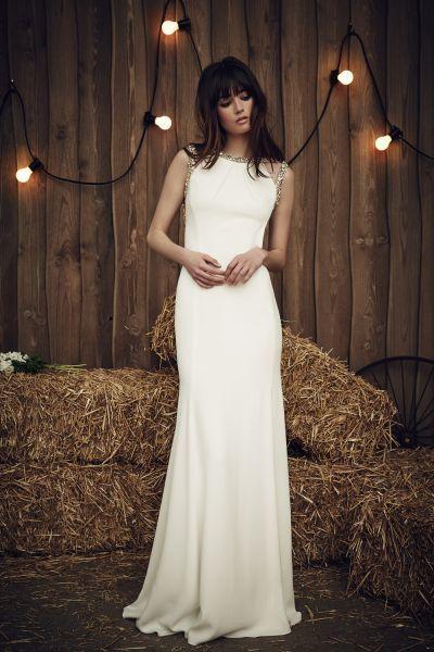 Vestidos de novia Jenny Packham 2017: estilo y sofisticación para mujeres…