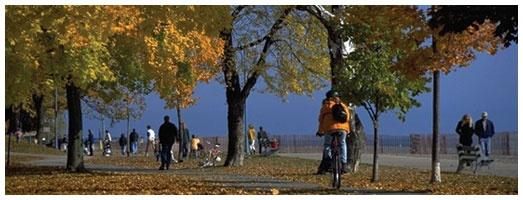 Confederation Park Trail in Hamilton, Ontario