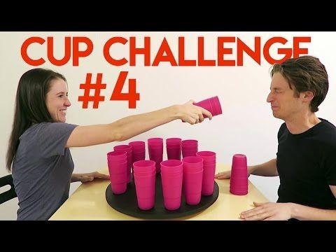 Cup Challenge #4 WHEEL OF MISFORTUNE - YouTube