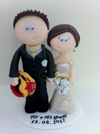 Personalised Wedding Cake Toppers That Look Like You Handmade Indian