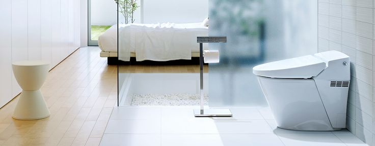 LIXILサティス:毎日使うものだから、「シンプルでムダのないデザイン」で空間と調和するシャワートイレ一体型便器。