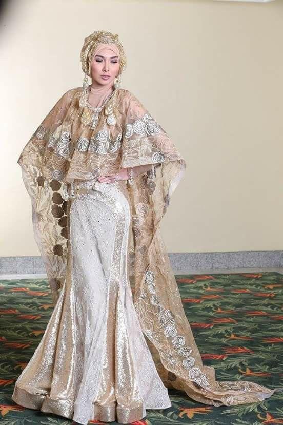 Indonesian wedding hijab By didadeux