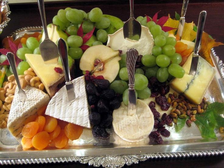 European Style Fruit And Cheese Display Weddings Food