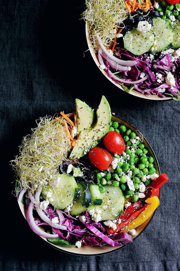 Luxusní zeleninový salát. Láska prochází žaludkem. http://HarmonickyVztah.cz
