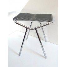 Tabouret scoubidou vintage d'occasion #tabouret #scoubidou  Collector Chic #chaise #meuble #vintage
