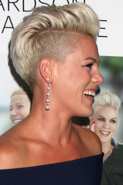 short undercut hairstyle for women