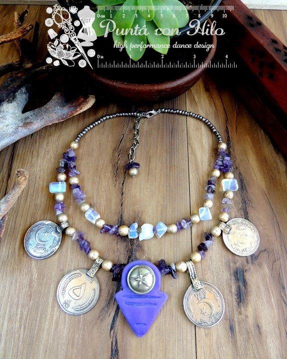 Handmade talhakimt necklace