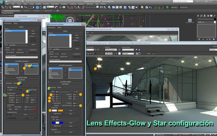 ARDIARQUI RENDER 3D tutoriales, tips, cursos: Glow - Glare- Bloom - Higlight in 3d max, vray y o mental ray