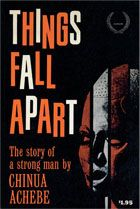 Things Fall Apart by Chinua Achebe poster. I loved this book