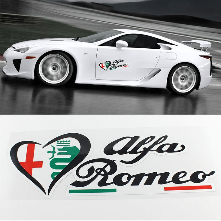 Best Alfa Romeo Images On Pinterest Alfa Romeo Badges And - Sporting car decals